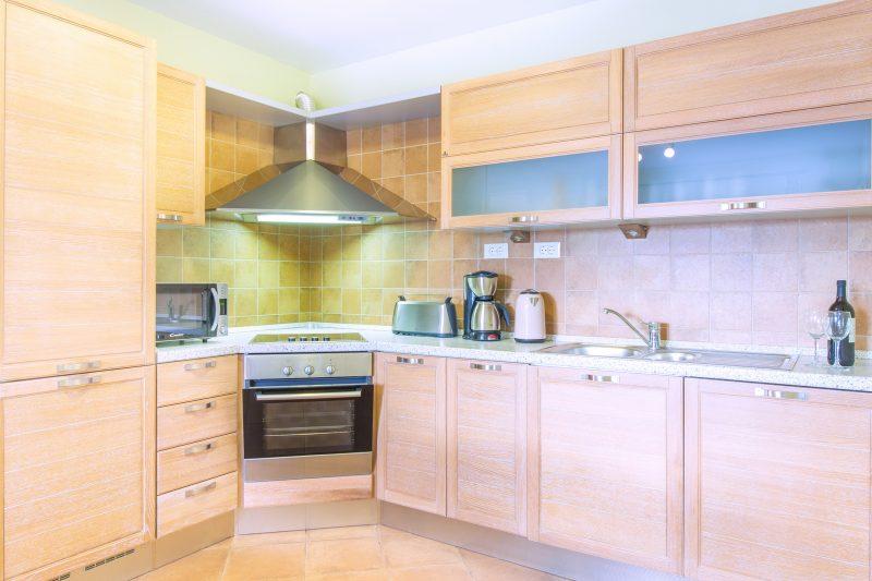 Kitchen in Villa Mare