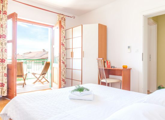 Double bedroom in Villa Mare