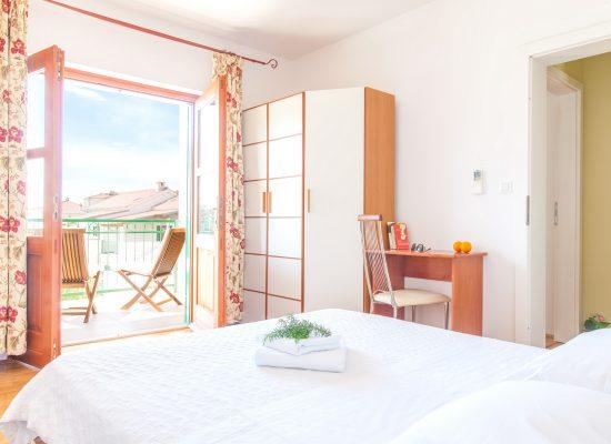 Double bedroom in Villa Mare