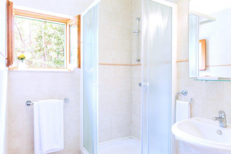 Shower cabin bathroom in Villa Mare