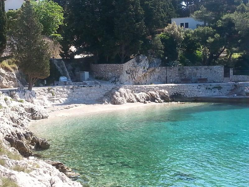 Beautiful little beach near Villa Mare